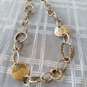 Sigrid Olsen Silver Ornate Necklace